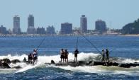 La pesca deportiva cada vez reúne a más aficionados en todo el país. Foto: R.Figueredo