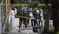 Bogotá: la explosión fue en el barrio La Macarena. Foto: AFP
