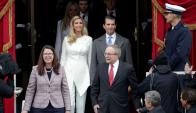 Donald Trump Junior e Ivanka Trump, hijos del nuevo presidente. Foto: REuters