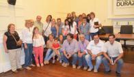Miembros de la Asociación Down de Durazno agradecieron a la intendencia. Foto: V. Rodríguez