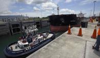 Canal de Panamá: Foto: AFP