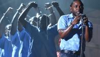 Lamar y su nuevo álbum. Foto: AFP