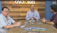 José Mastandrea, Daniel Rosa y Juan Pablo Romero hablaron sobre los 10 años de Ovación.