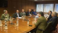 Reunión de los partidos de la oposicion por Rendicion de Cuentas. Foto: F.  Flores