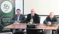 Gambetta, Chiappesoni y Kremer resaltaron potencial del rubro ovino. Foto: SUL