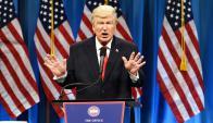 El actor ha criticado, desde la comedia, las políticas del presidente Trump. Foto: Difusión