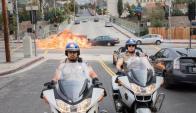 Pareja: Michael Peña es Monterello y Dax Shepard es Baker. Foto: Difusión
