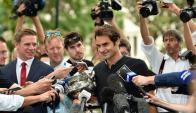 Roger Federer. Foto: La Nación / GDA
