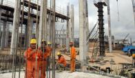 Obra del puente empleará a 500 personas. Foto: AFP