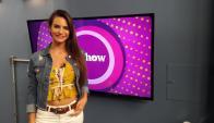Martina Graf en Tv Show.