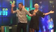 Gaspar Valverde y Karina Vignola en Púmbate!