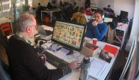 Colaboración. Áreas comunes habilitan a que los usuarios interactúen. (Fotos: Ariel Colmegna)