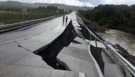 Terremoto en Chile. Foto: Reuters