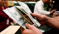 Operativa: en la semana se negociaron US$ 143,5 millones. Foto: AFP