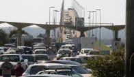 Puente San Martín: Se agilizó el trámite de ingreso este año. Foto: Daniel Rojas