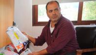 Marcelo Acquistapace ha colaborado en varias oportunidades con la Policía. Foto: F. Ponzetto