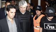 Lázaro Báez fue detenido por la Policía. Foto: Reuters