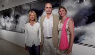 Silvia Arrocés, Jacques y Florence Bedel.