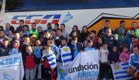 Logros: la Fundación Celeste se ha expandido a 12 departamentos del país. Foto: Fundación Celeste