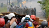 Incidentes en Venezuela. Foto: Reuters