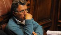 "Pérez: ""Me arrepentí de haber votado la legalización de la marihuana"". Foto: A. Colmegna"