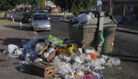 Habitantes de Montevideo podrán reportar contenedores desbordados. Foto: A. Colmegna