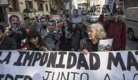 """""""Impunidad de agresores y corruptos vulnera la democracia"""". Foto: AFP"""