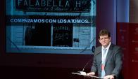 Expositor. El gerente general corporativo del grupo chileno disertó ayer en el XVI Encuentro Santander América Latina.
