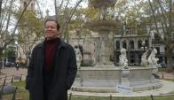 Doctorado en Historia en la Universidad de Estrasburgo, visitó Montevideo. Foto: A. Colmegna