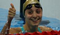Inés Remersaro volverá a competir en 50 metros libres
