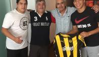 Gregorio Pérez visitó al paraguayo Iván Villalba. Foto: @ivanvillalba5 / Instagram