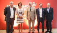 Ernesto Murro, Andrewina Mc Cubbing, Danilo Astori, Joaquín Morixe, Gabriel Rozman.