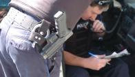 Seccional N° 12 investiga rapiña que niños realizaron en Brazo Oriental. Foto: D.Borrelli.