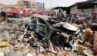 Atentado en Bagdad. Foto: Reuters.