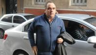 Joselo López al llegar al juzgado. Foto: Francisco Flores