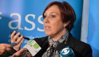 Susana Muñiz, presidenta de ASSE. Foto: ASSE