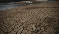 """""""El cambio climático llegó para quedarse"""", indicó el gobernador Alckmin. Foto: Reuters."""