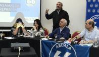 Larrañaga participó en un encuentro de la Lista 66. Foto: Marcelo Bonjour