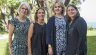 En la sangre. Alba, Marta, Rosa y Laura lideran el negocio familiar.