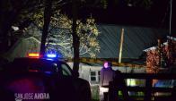 La víctima estaba sola en su vivienda ubicada en el km 83 de la Ruta 3. Foto: sanjoseahora.com.uy