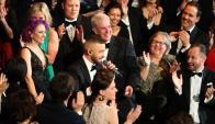 Justin Timberlake abrió la ceremonia. Foto: Reuters