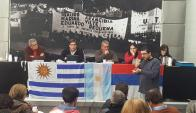 Encuentro: la Mesa Política del Frente sesiónó en Buenos Aires. Foto: @g_reboledo