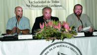 Martín Gurméndez, Pablo Zerbino y Pablo Rostagnol anunciaron los detalles de la expo.