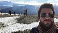 Fernando Cristino en Bariloche.
