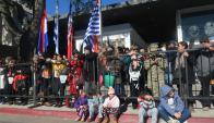La casa de los Artigas en Sauce  volvió a ser sede de los festejos por el natalicio del prócer. Foto: A. Colmegna