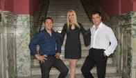 Esquivel, Álvarez de Ron y Pino se unen en esta noche por el tango. Foto: Difusión