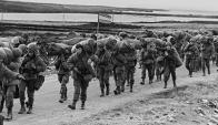 Guerra de Malvinas. Foto: Archivo El País.