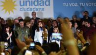 Cristina Fernández lucha en Buenos Aires. Foto: EFE