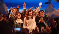 Cristina Fer´nández. Foto: GDA/La Nación
