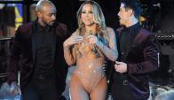 Mariah Carey y un show para el olvido. Foto: Reuters